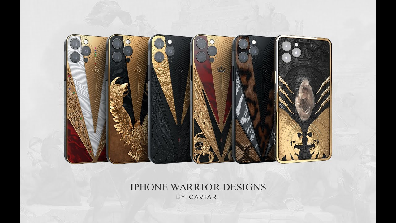 Caviar presented the Warrior collection with a total value of $ 150 000.