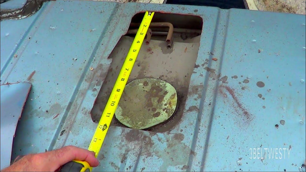 3rd gen Camaro Fuel pump access hole