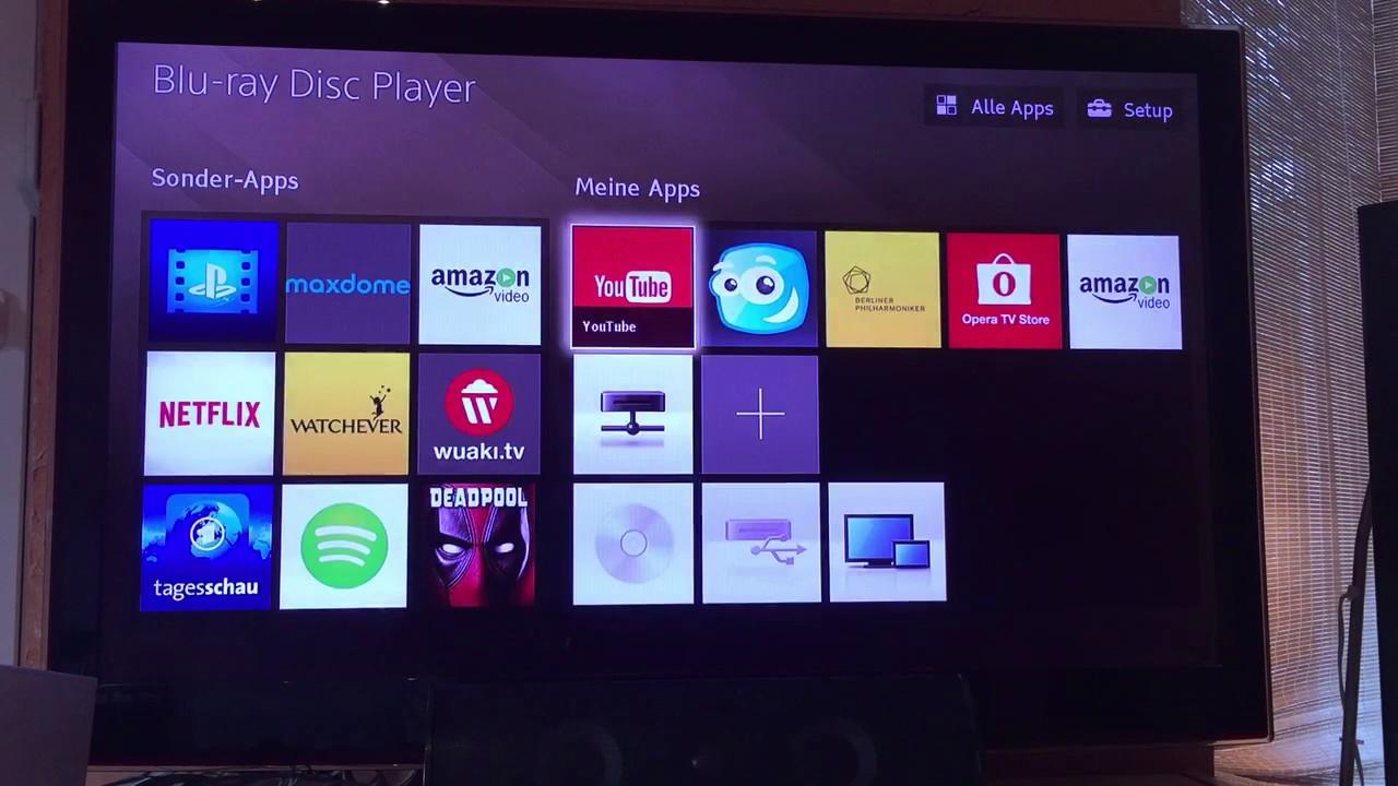 Inbetriebnahme Sony BDP-S6700 Blu-ray-Player First Steps Einrichtung
