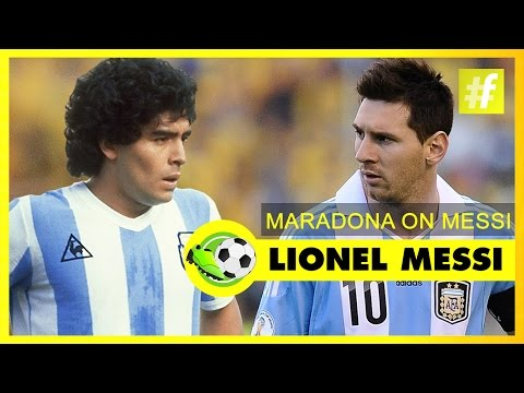 "Lionel Messi - The ""New Maradona"" 