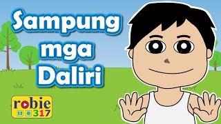 Sampung mga Daliri Animated (Awiting Pambata)   Tagalog Parts of the Body Song