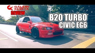 Civic EG6 B20 Turbo 760HP by Pro Street KB