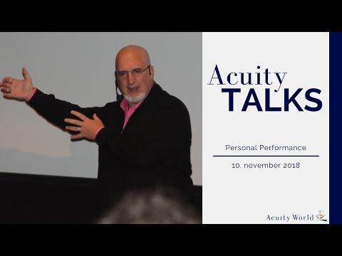 Your Resonant Signature - Joseph Riggio, Acuity TALKS - November '17