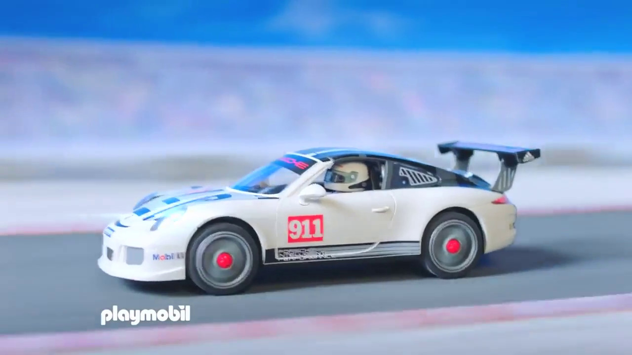 playmobil porsche 911 gt3 cup 9225 youtube. Black Bedroom Furniture Sets. Home Design Ideas