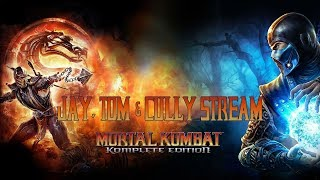 Jay, Tom & Cully Stream Mortal Kombat #3