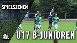 Niendorfer TSV - SV Werder Bremen (U17 B-Junioren, Bundesliga Nord/Nordost) - Spielszenen