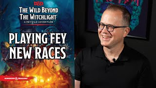 How to Play Fęy Creatures in D&D   Wild Beyond The Witchlight   D&D