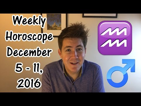 Weekly Horoscope for December 5 - 11, 2016 | Gregory Scott Astrology