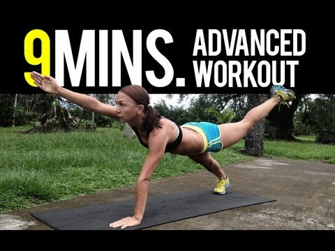9 Minutes Advanced Body Weight Workout