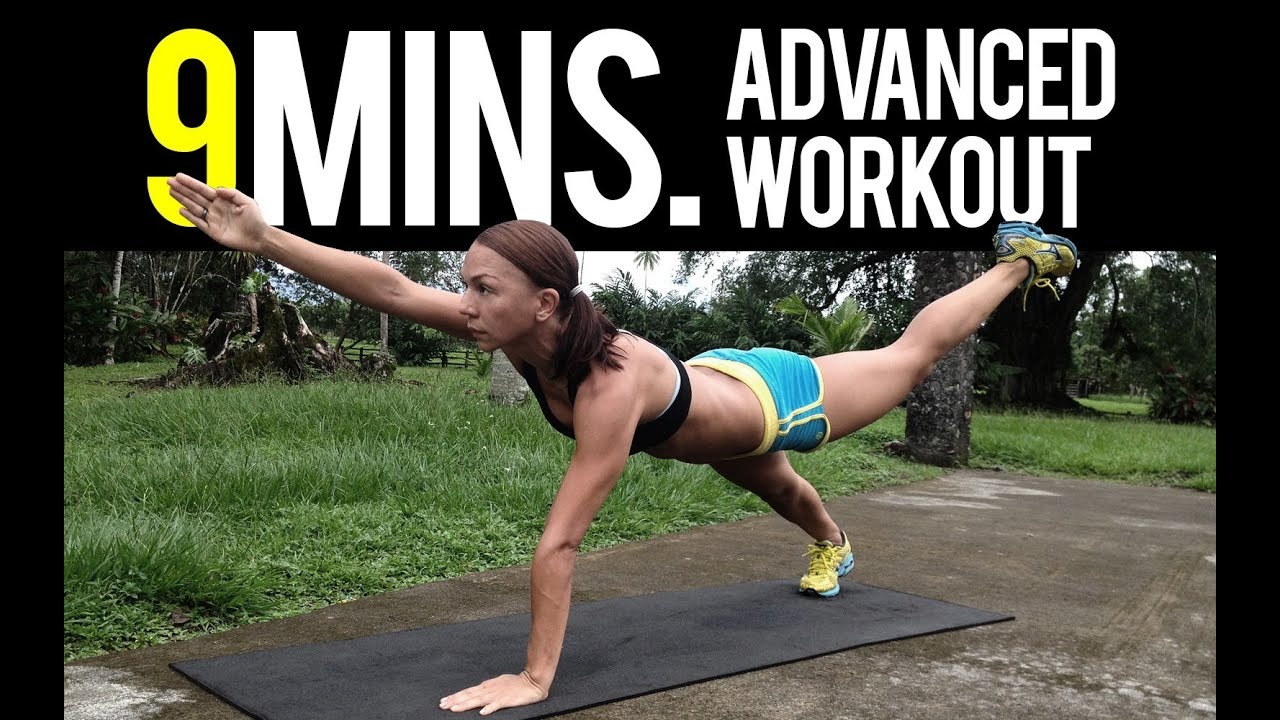 9 Minutes Advanced Body Weight Workout - YouTube