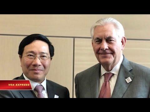 Ông Phạm Bình Minh thăm Mỹ theo lời mời của ông Tillerson
