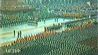 Парад Победы 24 июня 1945 года в цвете