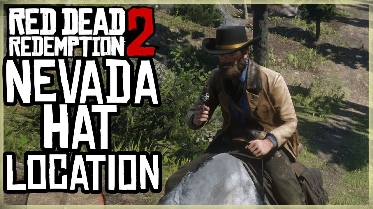 NEVADA HAT LOCATION - Red Dead Redemption 2 - Unique Collectible 615 RARE  HIDDEN SECRET HAT