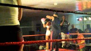 Al-Birdoe at the Dayton Ohio Fight Night Part 1