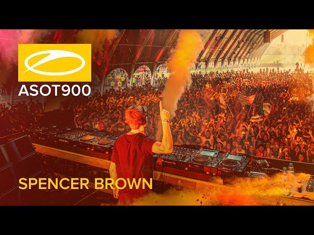 Spencer Brown live at A State Of Trance 900 (Mexico City - Mexico)