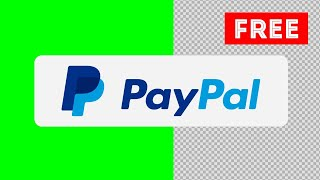 PayPal Payment Green Screen, Alpha Channel   Logo Animation   Free Download