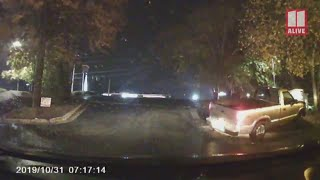 Dashcam video shows driver allegedly driving drunk, swerving before head-on crash