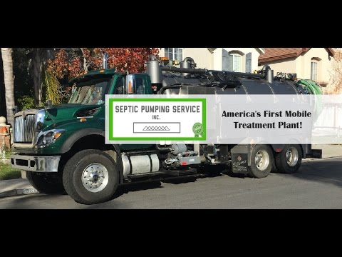 Septic Pumping Service in Green