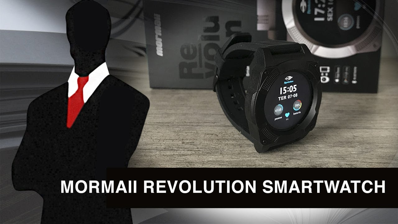 Mormaii Revolution Smartwatch  REVIEW  - YouTube fca1ff9182