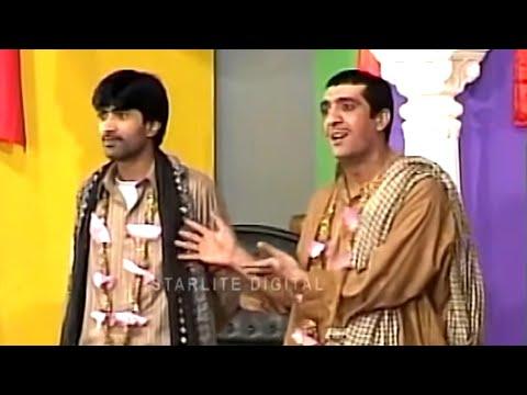 Zafri Khan and Sajan Abbas New Pakistani Stage Drama Full Comedy Clip