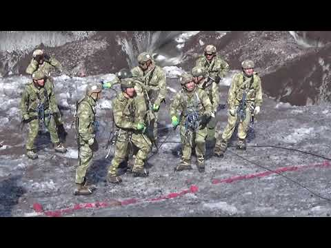Преодоление ледового препятствия