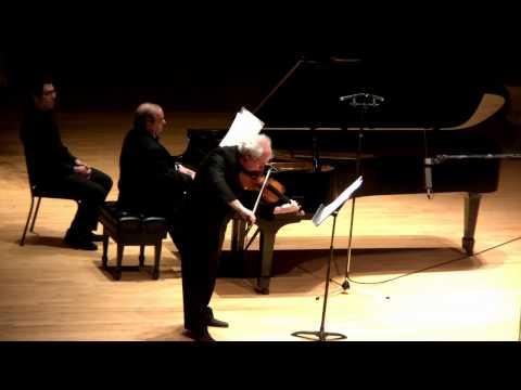 J. BRAHMS VIOLIN SONATA 1-II:Adagio IGOR GRUPPMAN  JORGE LUIS PRATS