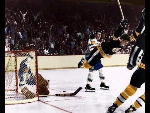BOBBY ORR Career Replay ITC Hockey 1966 Chicago Black Hawks @ New York Rangers