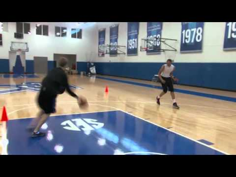 Anthony Davis workout - NBA Draft 2012