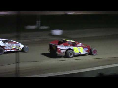 Ransomville Speedway Novice Sportsman Feature Highlights 9-8-17