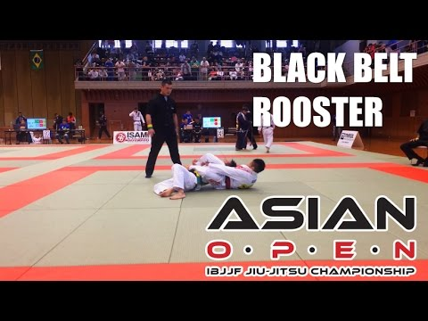 Asian Open 2014 - Black belt adult - Rooster weight Final