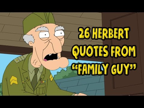 "26 Herbert Quotes From ""Family Guy"""