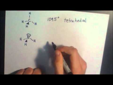 Easy molecular geometry - YouTube - molecular geometry chart