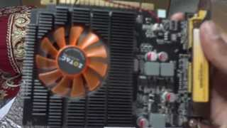 unboxing zotac nvidia geforce gt 630 synergy edition 4 gb ddr3 graphics card