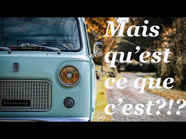 LE FIAT 850T, LA PREMIERE BOITE A CHAUSSURES SEXY!!!