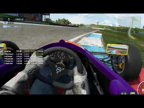 Project Cars 2 Old Pre-Patches Formula Rookie Knockhill TimeTrial Record 53.4