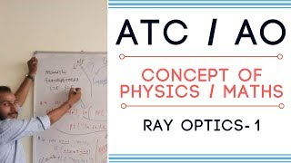 #ATC #AO #DMRC #BSNL #RRB #PHYSICS - RAY OPTICS - 1