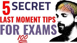 5 Secret Tips For Exam to Score Highest Marks (Hindi) Study Tips
