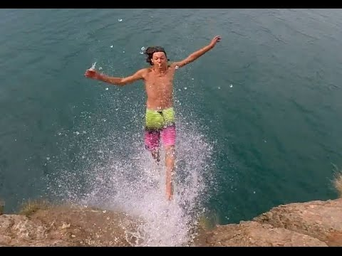 BEST EPIC ALS ICE BUCKET CHALLENGE FALLING OFF CLIFF - YouTube