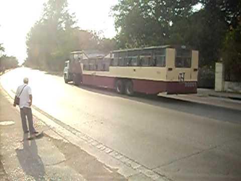 Transit bus in Cuba