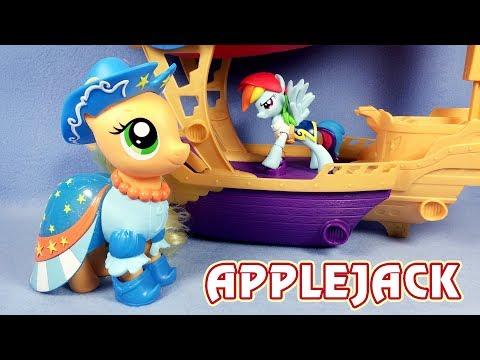 Пони-модница Эпплджек - обзор игрушки Май Литл Пони (My Little Pony)