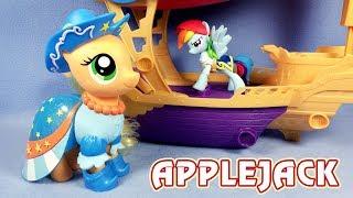 Скачать Пони модница Эпплджек обзор игрушки Май Литл Пони My Little Pony