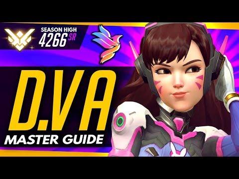 Overwatch | TOP 500 DVA - Master Guide (ft Level5Pidgey)