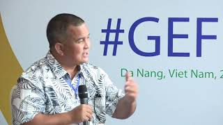 #GEFLive: H.E. David Paul, Environment Minister of the Republic of the Marshall Islands