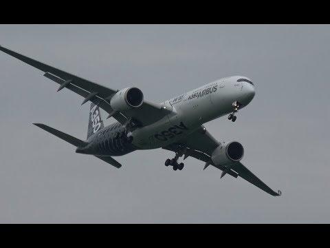 ILA 2018 | Spectacular Landing AIRBUS A350 at ILA Berlin Air Show 2018