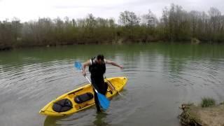 stabilisateur kayak test efficacitée