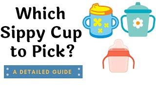 Best sippy cup for your baby | Baby essentials 6-24 months