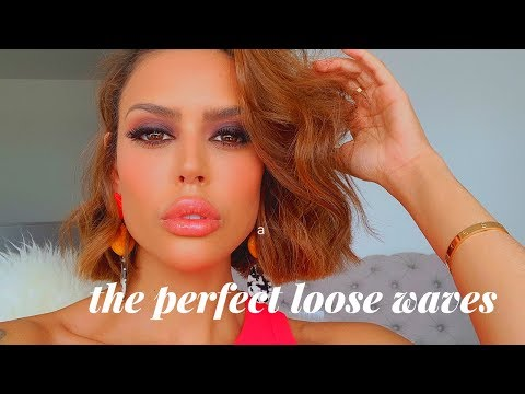 How to style short hair very Edgy- The perfect loose waves