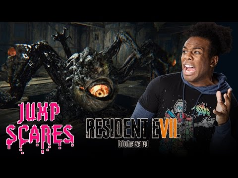 GIANT MUTANT JACK BAKER BOSS FIGHT!!! Resident Evil 7: Biohazard #8 — Jump Scares