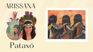 Arte indigena de Arissana Pataxó