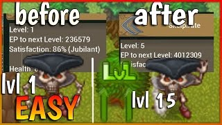 TibiaME/ HOW TO UP Pet (all)From lvl 1 to 15 EASY -Darckcr TibiaME en españo